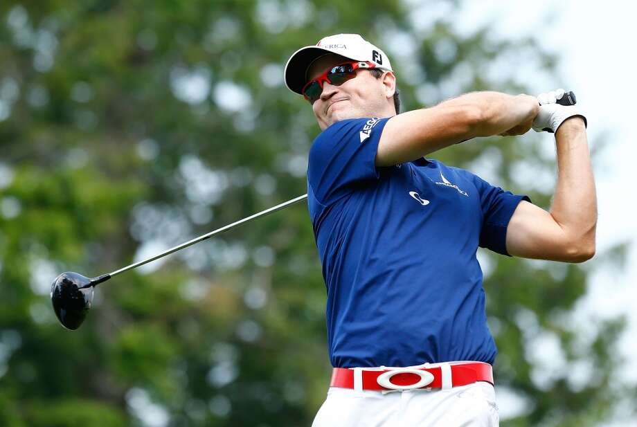 CROMWELL, CT- JUNE 21: Zach Johnson tees off from the 6th hole during the second round of the 2013 Travelers Championship at TPC River Highlands on June 21, 2012 in Cromwell, Connecticut.  (Photo by Jared Wickerham/Getty Images)