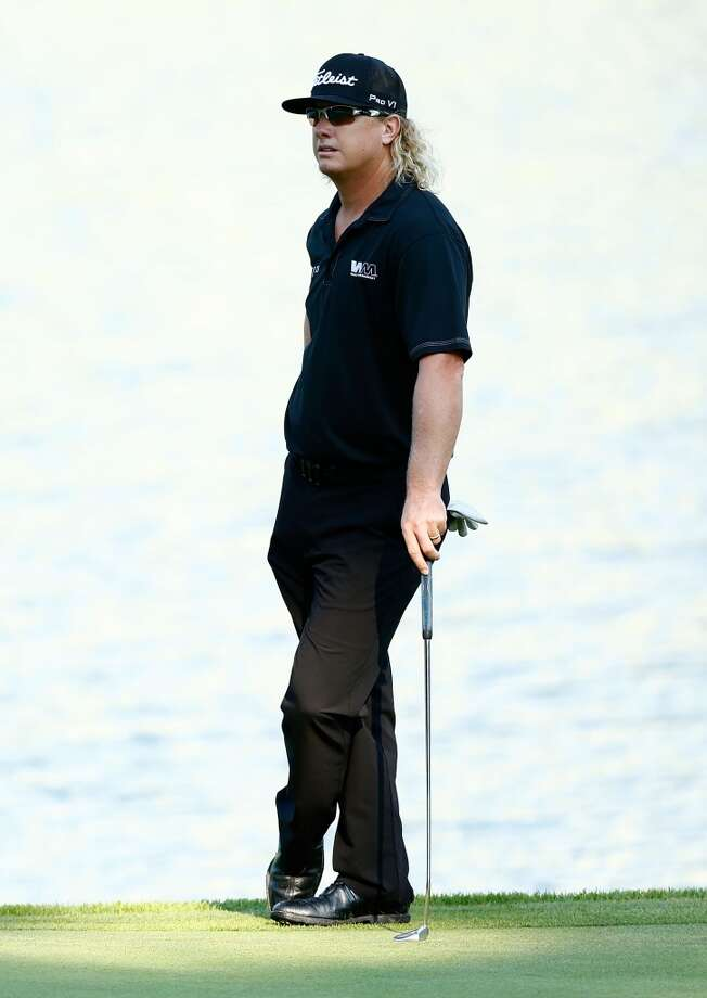 CROMWELL, CT- JUNE 21: Charley Hoffman stands on the 15th green during the second round of the 2013 Travelers Championship at TPC River Highlands on June 21, 2012 in Cromwell, Connecticut.  (Photo by Jared Wickerham/Getty Images)