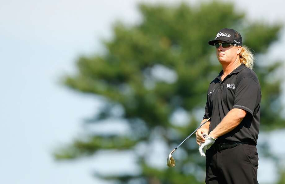 CROMWELL, CT- JUNE 21: Charley Hoffman looks on during the second round of the 2013 Travelers Championship at TPC River Highlands on June 21, 2012 in Cromwell, Connecticut.  (Photo by Jared Wickerham/Getty Images)