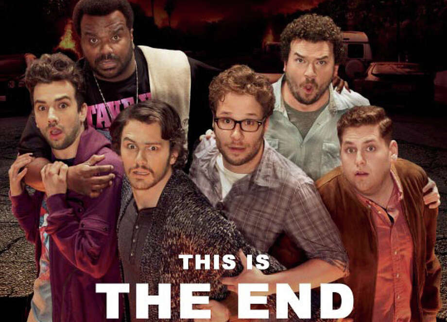 """""""This is the End"""" is now playing in area movie theaters. Photo: Contributed Photo / Westport News"""