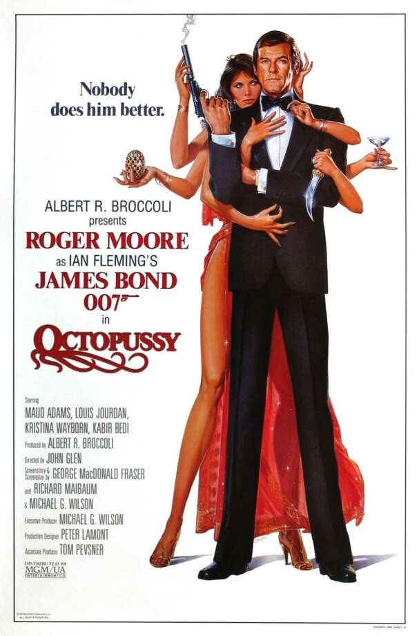 """The thirteenth James Bond movie came with one of the most forgettable Bond themes ever: Rita Coolidge's """"All Time High"""". Too bad they couldn't capitalize on the film's title and throw a ton of money at Devo."""