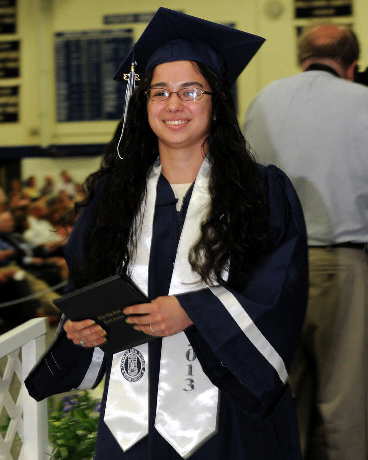 Commencement Exercises for the Staples High School Class of 2013, in Westport, Conn., June 21st, 2013 Photo: Ned Gerard / Connecticut Post