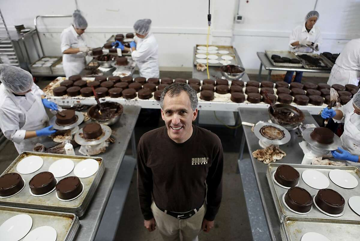 Andrew Stoloff, CEO of Rubicon Bakery, one of the Bay Area's big commercial bakeries, poses for a portrait in the bakery on June 19, 2013 in Richmond, Calif. After Stoloff came in, he restructured the business, including hiring a labor force of ex cons. After years of struggling the bakery is now breaking $6 million in sales.