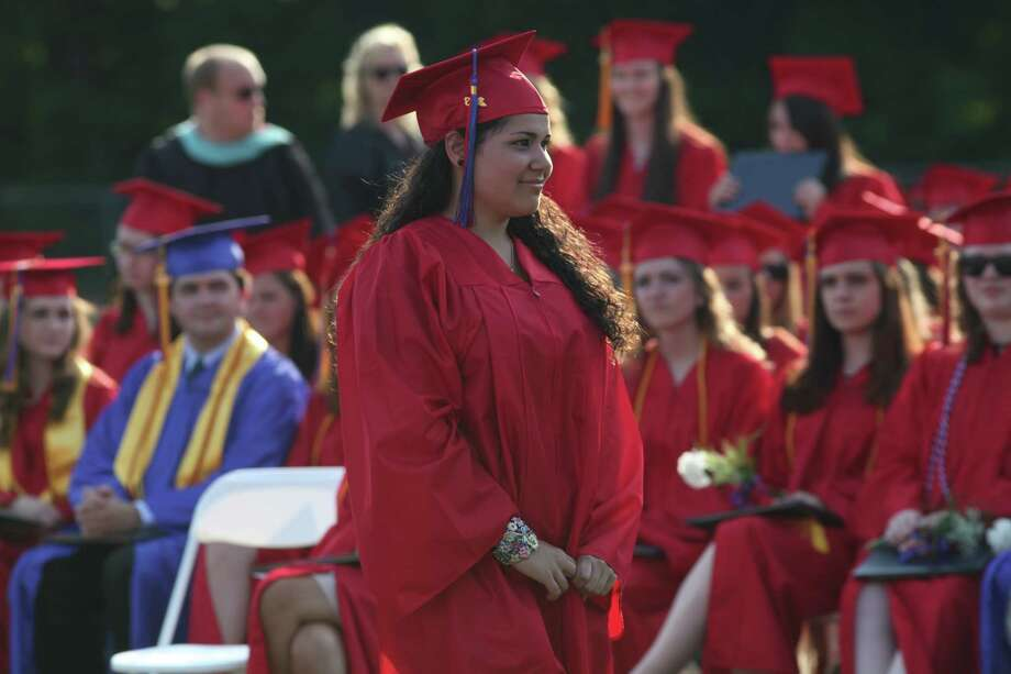Joseph A. Foran high school holds commencement exercises in Milford, Conn., on Friday, June 21, 2013 Photo: BK Angeletti, B.K. Angeletti / Connecticut Post freelance B.K. Angeletti