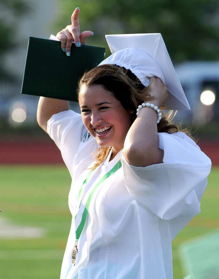 Friday's commencement ceremony at Norwalk High School on June 21, 2013. Photo: Lindsay Perry / Stamford Advocate
