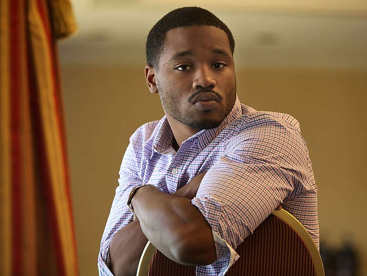 """Director Ryan Coogler of """"Fruitvale Station"""", a film about the BART shooting, sits at the Claremont Hotel in Berkeley, Calif., on Friday, June 21, 2013."""