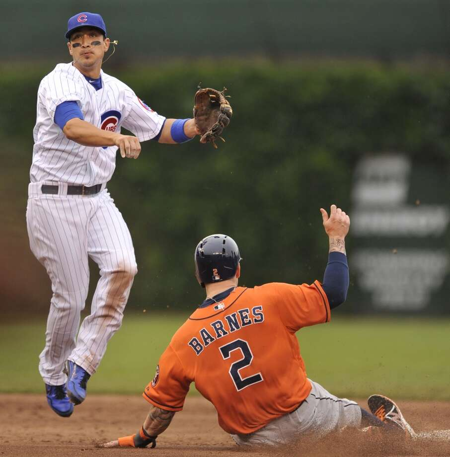 June 21: Cubs 3, Astros 1Houston lost its first game at Wrigley Field as an American League team.  Record: 28-47. Photo: Paul Beaty, Associated Press