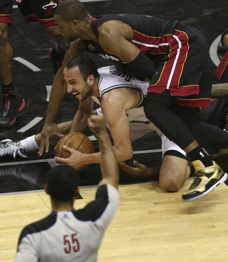 Game 4 vs. Miami: 5 points, 2 assists, 2 rebounds in 26 minutes - Heat 109, @Spurs 93 Photo: Jerry Lara, San Antonio Express-News