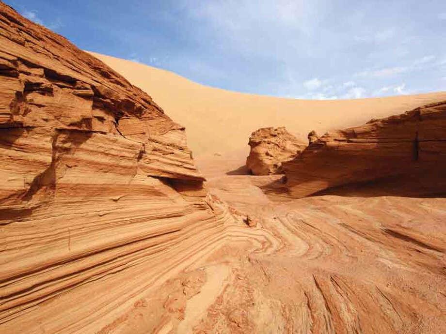 The Namib Sand Sea, a coastal desert covering nearly 7.5 million acres, is Namibia's first World Heritage Site to be inscribed by UNESCO. Photo: Paul Van Schalkwyk / Paul van Schalkwyk