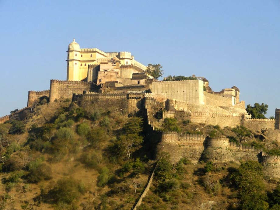 'The ecclectic architecture of the forts, some up to 20 kilometres in circumference, bears testimony to the power of the Rajput princely states that flourished in the region from the 8th to the 18th centuries,' UNESCO notes in its inscription of the hill forts of Rajasthan. Photo: DRONAH / DRONAH