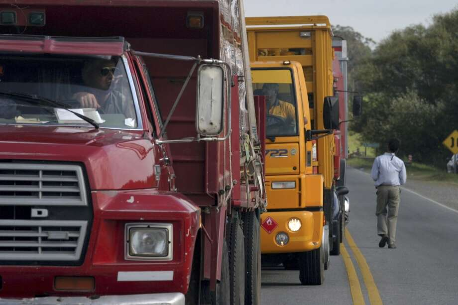 No. 41 -- Argentina, $5.23/gallon   Argentines account for 13 percent of the world's natural gas vehicles. They also produce the fifth-highest volume of biofuels in the world -- 50,340 barrels per day.  [Photos:Truck drivers wait at a roadblock in Tandil, Argentina.] Photo: Pablo Aneli, AP