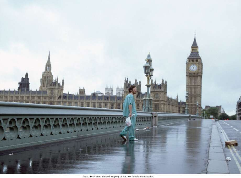 """Zombies No. 8 """"28 Days Later"""" (2002) $45 million"""
