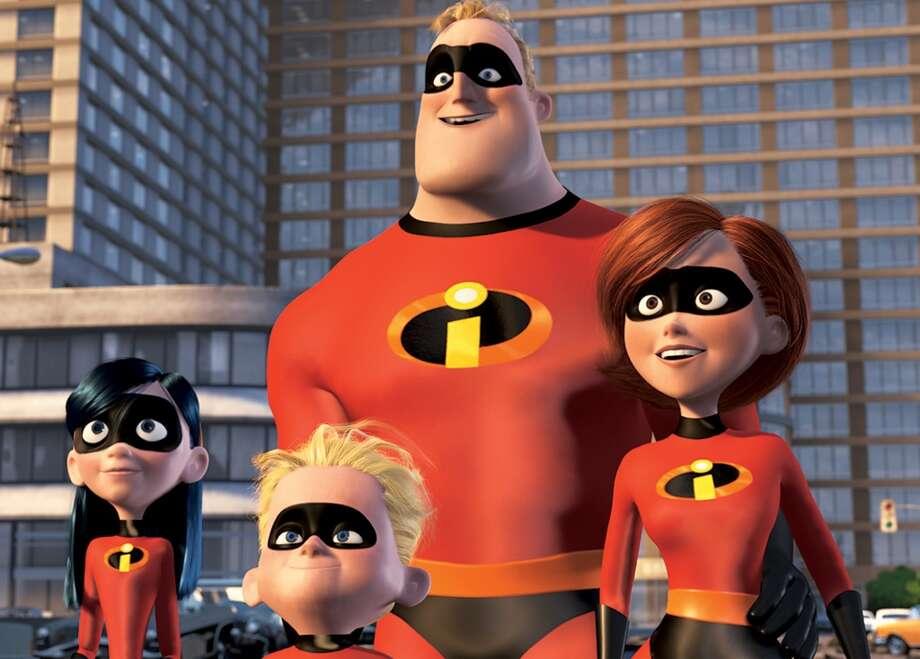 "Pixar No. 7 ""The Incredibles"" (2004) $261.4 million"