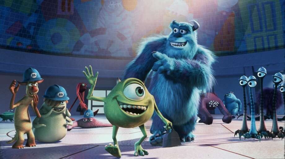 "Pixar No. 6 ""Monsters, Inc."" (2001) $255.9 million"