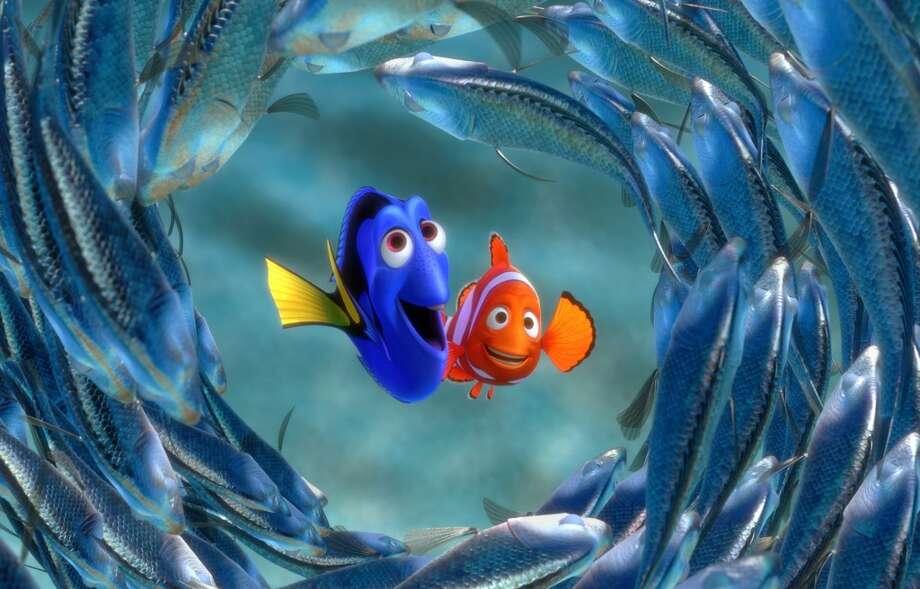 "Pixar No. 5 ""Finding Nemo"" (2003) $339.7 million"