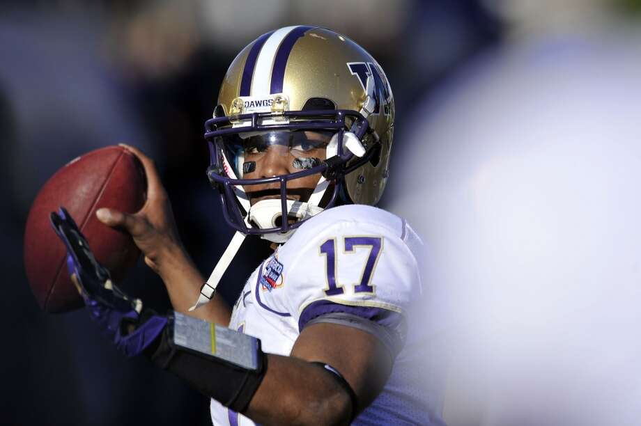1. What will Keith Price show in 2013?Quarterback Keith Price led the Huskies with more than 3,000 passing yards and 33 touchdowns in 2011, even outplaying Heisman winner Robert Griffin III in an Alamo Bowl for the ages. Considered a dark-horse Heisman candidate entering 2012, Price regressed to an average quarterback last season, passing for just 19 touchdowns on the year.   Now entering his senior season, the Huskies hopes lie on the arm of Price. Will we see the playmaking scorer of 2011 or will we see the more tentative quarterback of 2012?