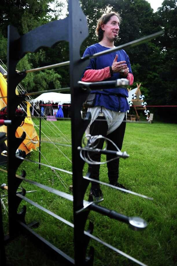 The Midsummer Fantasy Renaissance Faire Saturday, June 22, 2013 at Warsaw Park  in Ansonia, Conn. Photo: Autumn Driscoll / Connecticut Post