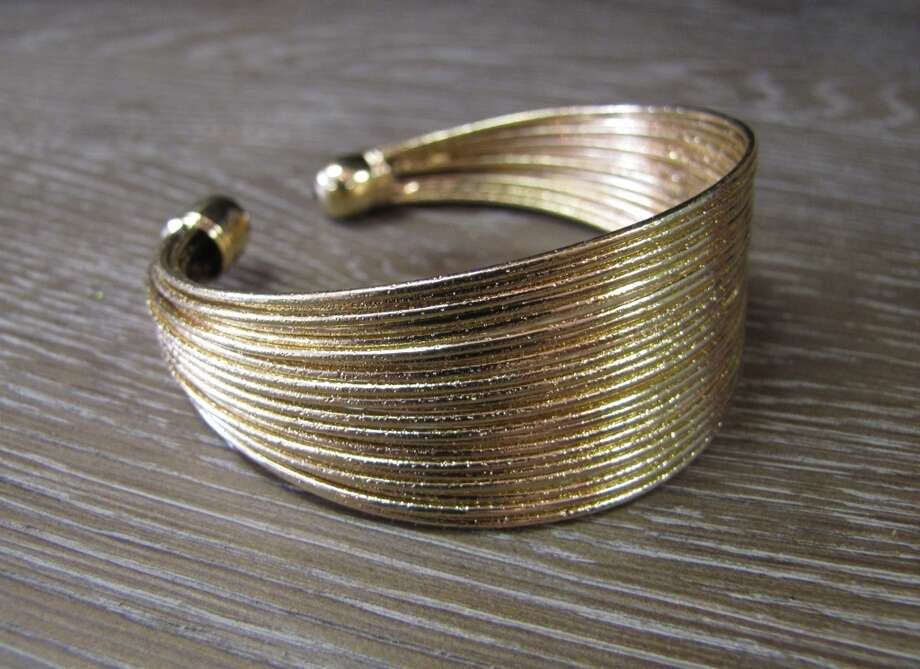 Gold-tone cuff bracelet, Monica s Mark, Beaumont, $12