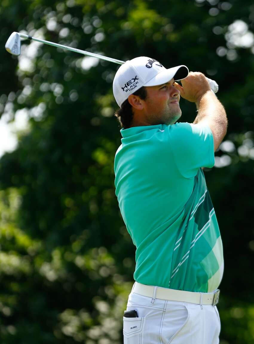 CROMWELL, CT- JUNE 22: Patrick Reed tees off during the third round of the 2013 Travelers Championship at TPC River Highlands on June 22, 2012 in Cromwell, Connecticut. (Photo by Jared Wickerham/Getty Images)