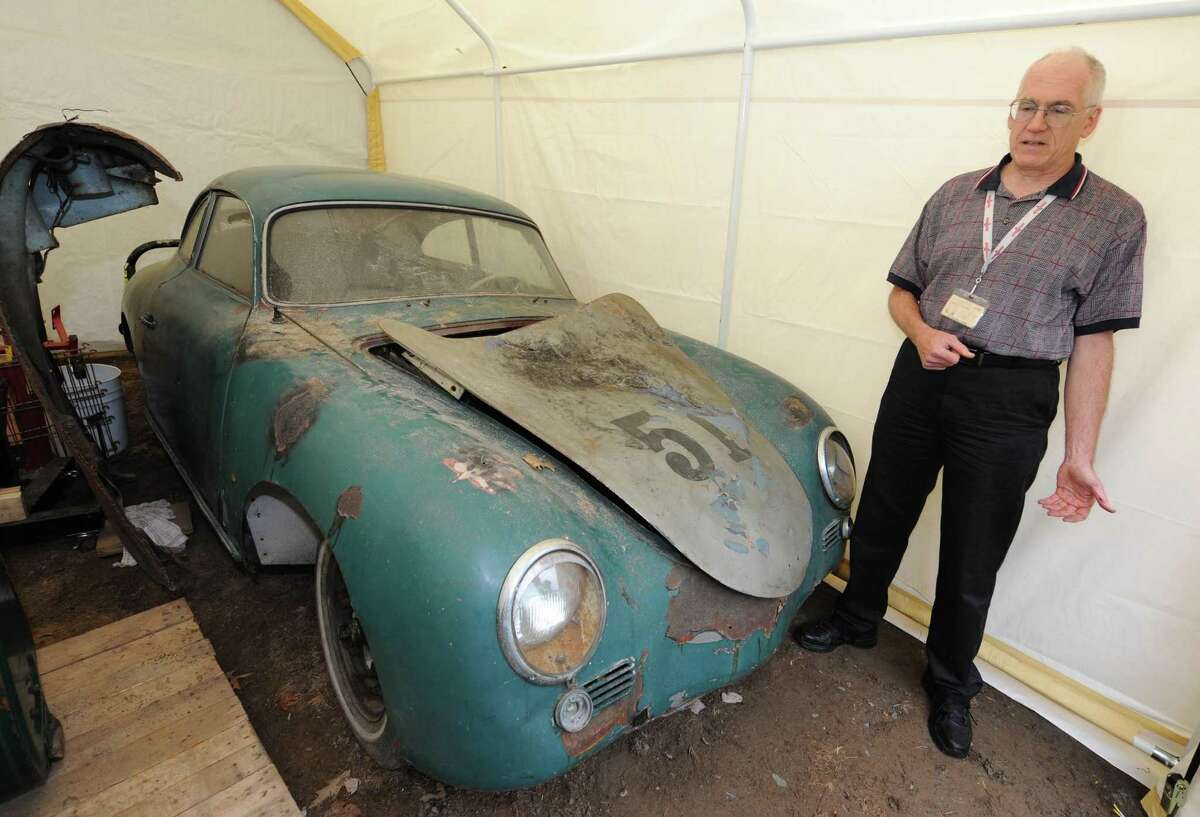 In the wake of a June Advocate column about Kevin Cleary's inability to register a 1956 Porsche, he was able to sell the disabled for vehicle for more than twice what he ever expected. (Michael P. Farrell/Times Union)