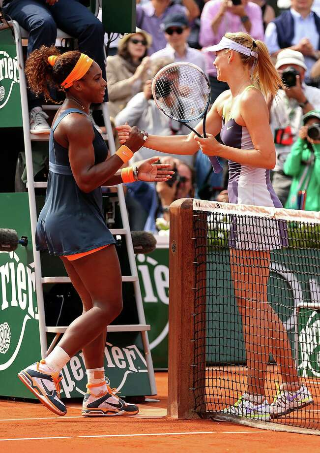 Since their meeting in the French Open final, Serena Williams and Maria Sharapova have shown their true feelings for each other in a war of words. Photo: Clive Brunskill, Staff / 2013 Getty Images
