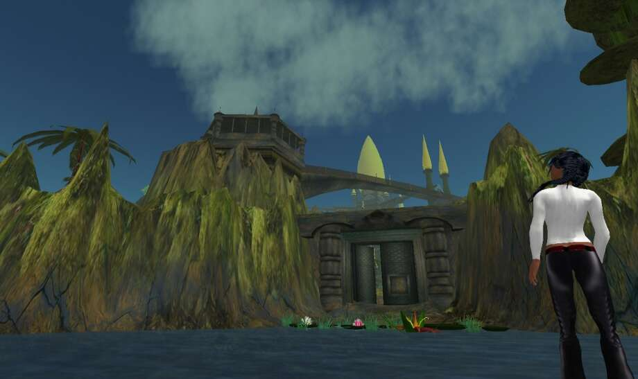 The Second Life island of Svarga was designed by Laukosargas Svarog and features its own artificial intelligence virtual ecosystem.