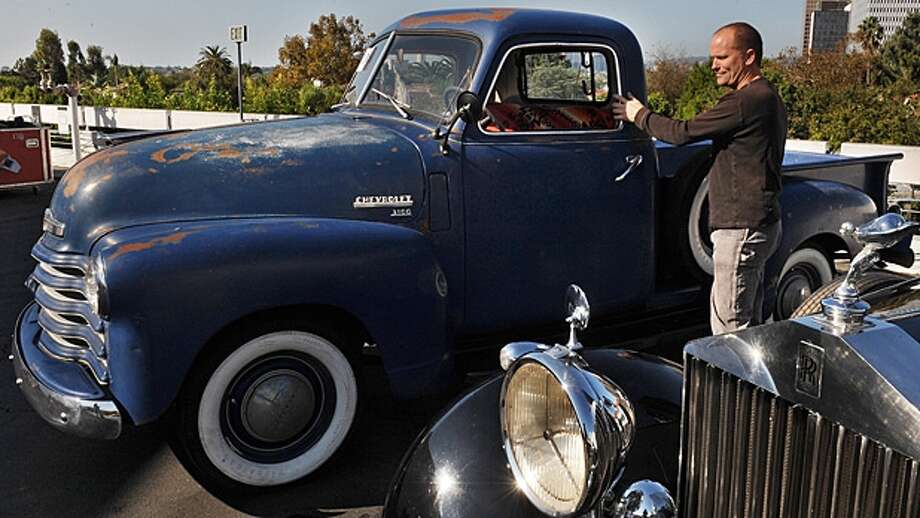 Here's what Jimmie Johnson drives every day. Can you name the make and model? If not, click through to www.sfchronicle.com/sports to find out.