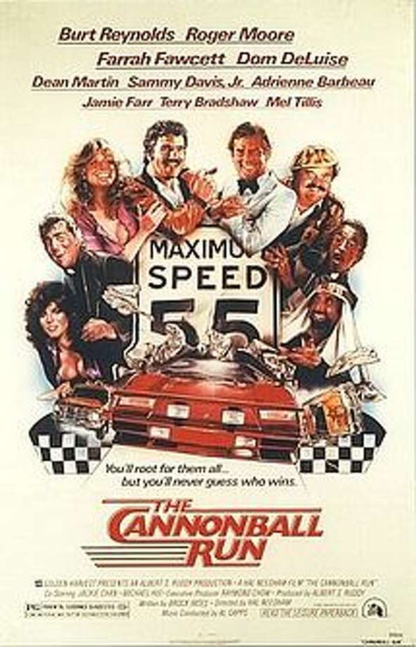 Cannonball Run was a huge hit in 1981, starring Burt Reynolds and a cast of seeming thousands. Jimmie Johnson likes it to this day.