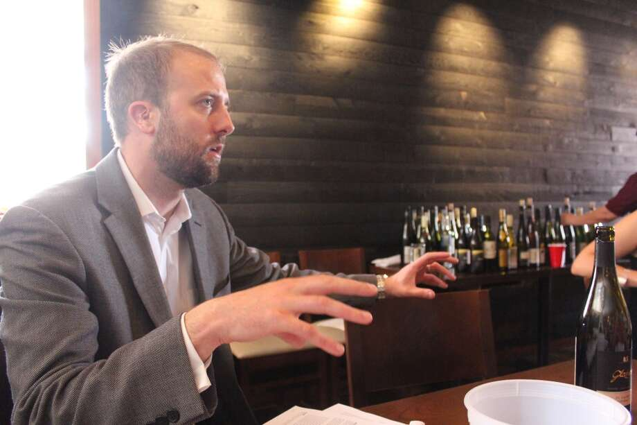 Clint Sloan explains the selection of MIchael Skurnik Wines.