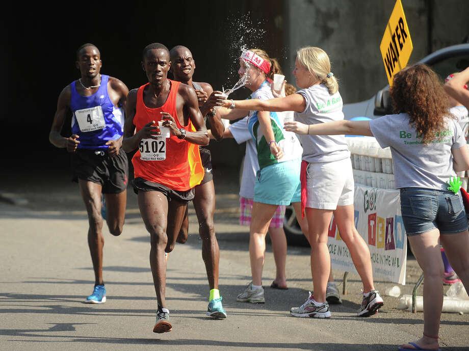 Fairfield Half Marathon in Fairfield, Conn. on Sunday, June 23, 2013. Photo: Brian A. Pounds / Connecticut Post