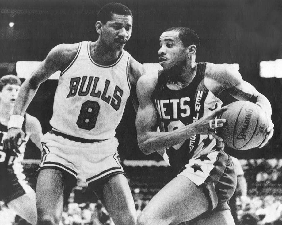 George Gervin played one season for the Chicago Bulls.