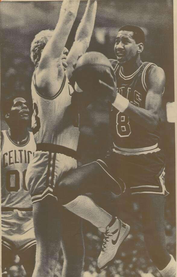 Basketball player George Gervin.