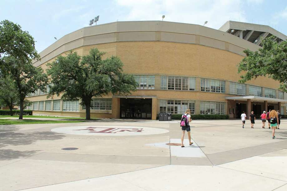 "G. Rollie White Coliseum has rested in the shadows of Kyle Field since 1954. It is set for demolition later this summer to make way for the ""new"" Kyle Field. Photo: Brenz Zwerneman"