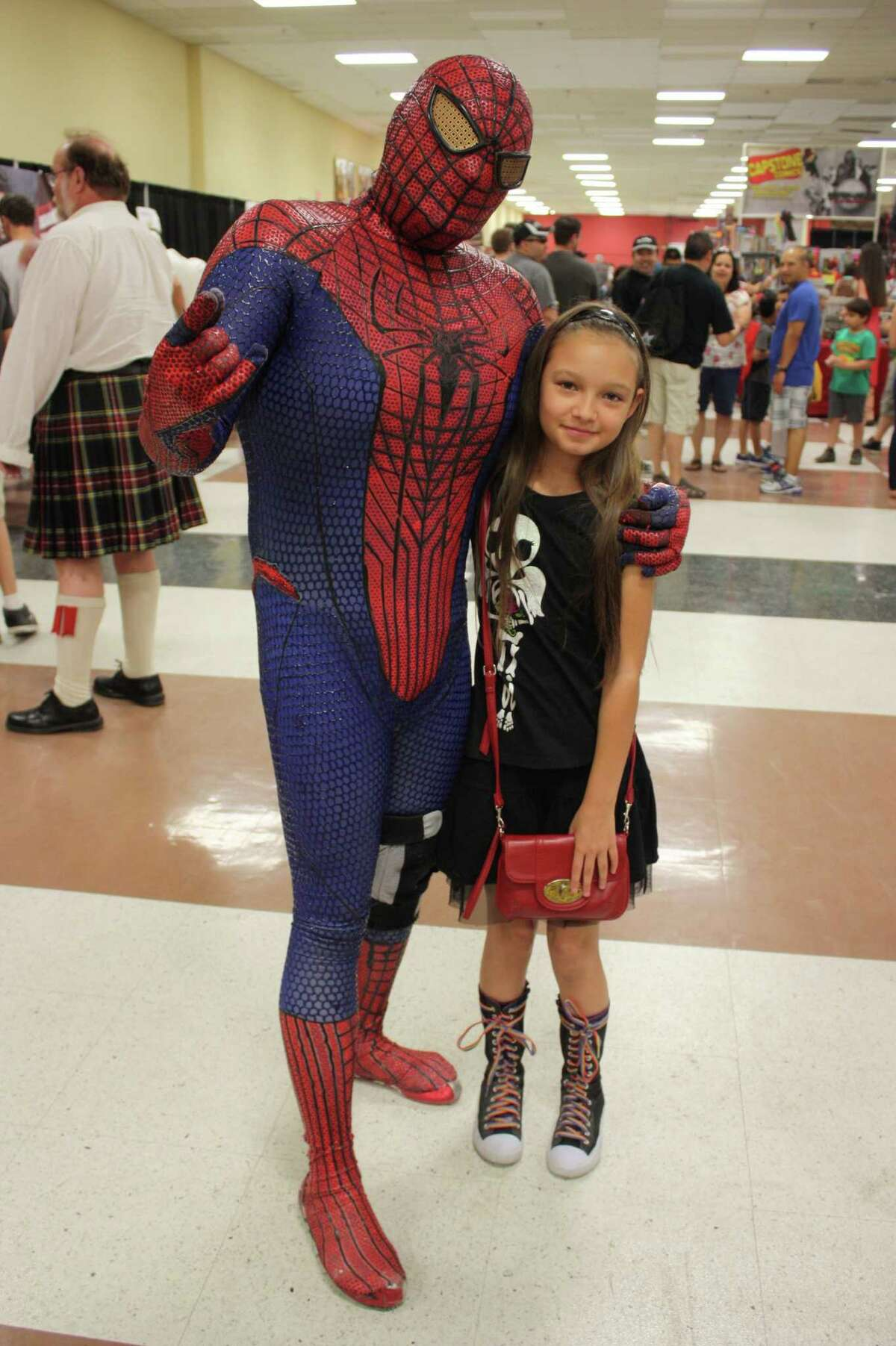 Fans dress to impress at Texas Comicon at the San Antonio Event Center on Sunday, June 23, 2013.