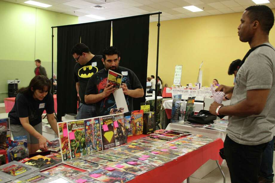 Fans dress to impress at Texas Comicon at the San Antonio Event Center on Sunday, June 23, 2013. Photo: Libby Castillo / For MySA.com