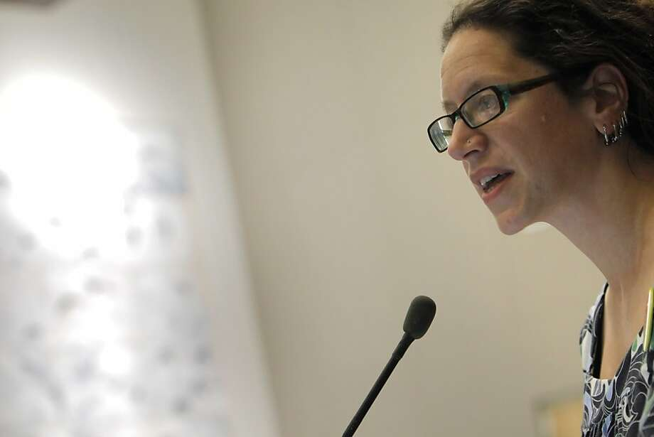 Alisa Messer, president of the CCSF faculty union, says the accreditation commission's decision should be overturned. Photo: Carlos Avila Gonzalez, The Chronicle