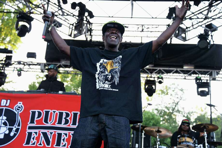 Flavor Flav of Public Enemy performs onstage at the Firefly Music Festival at The Woodlands of Dover International Speedway on June 21, 2013 in Dover, Delaware.  Photo: Theo Wargo, (Credit Too Long, See Caption) / 2013 Getty Images