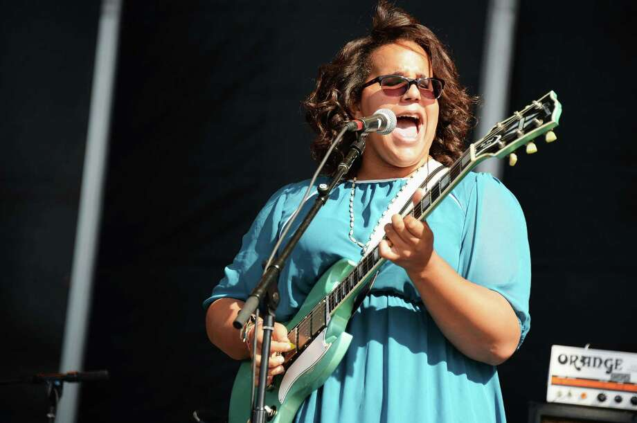 Brittany Howard of Alabama Shakes performs onstage at the Firefly Music Festival at The Woodlands of Dover International Speedway on June 22, 2013 in Dover, Delaware.  Photo: Theo Wargo, (Credit Too Long, See Caption) / 2013 Getty Images