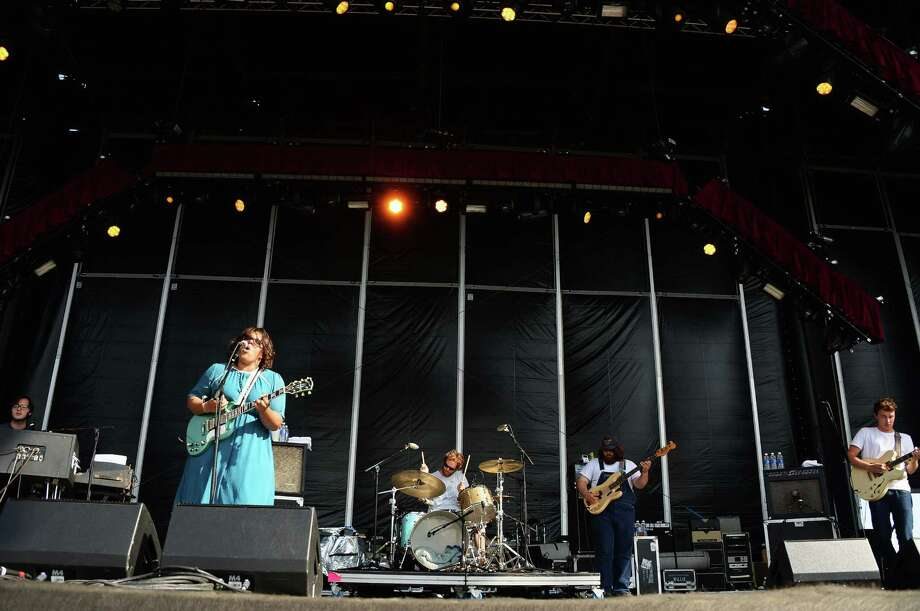 Alabama Shakes perform onstage at the Firefly Music Festival at The Woodlands of Dover International Speedway on June 22, 2013 in Dover, Delaware.  Photo: Theo Wargo, (Credit Too Long, See Caption) / 2013 Getty Images