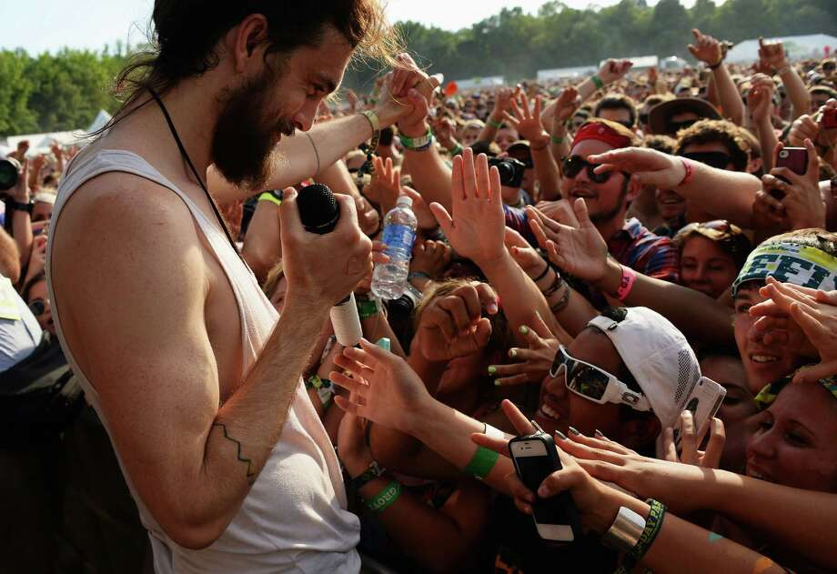 Alex Ebert of the band Edward Sharpe and the Magnetic Zeros performs onstage at the Firefly Music Festival at The Woodlands of Dover International Speedway on June 22, 2013 in Dover, Delaware. Photo: Theo Wargo, Getty Images For Firefly Music F / 2013 Getty Images