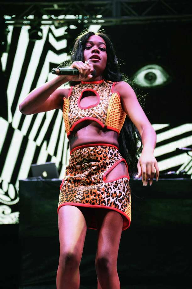 Azealia Banks performs onstage at the Firefly Music Festival at The Woodlands of Dover International Speedway on June 22, 2013 in Dover, Delaware.  Photo: Theo Wargo, (Credit Too Long, See Caption) / 2013 Getty Images