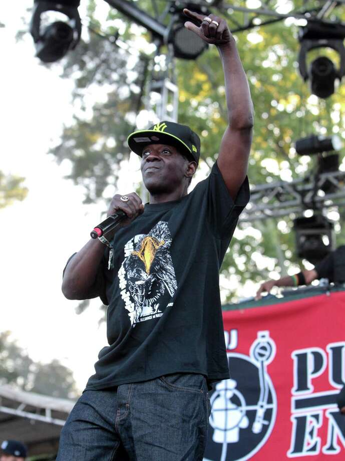 Flavor Flav of the rap group Public Enemy performs on Day 1 of the Firefly Music Festival at The Woodlands on Friday, June 21, 2013 in Dover, Del.  Photo: Owen Sweeney, Associated Press / Invision
