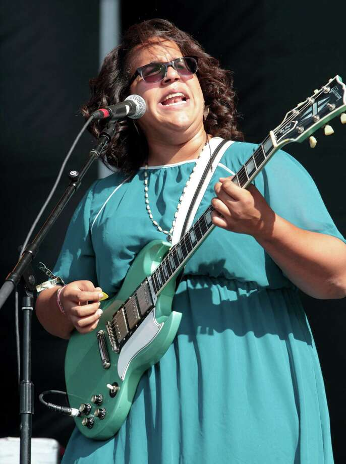 Brittany Howard of the rock band Alabama Shakes performs on Day 2 of the Firefly Music Festival at The Woodlands on Saturday, June 22, 2013 in Dover, Del.  Photo: Owen Sweeney, Associated Press / Invision