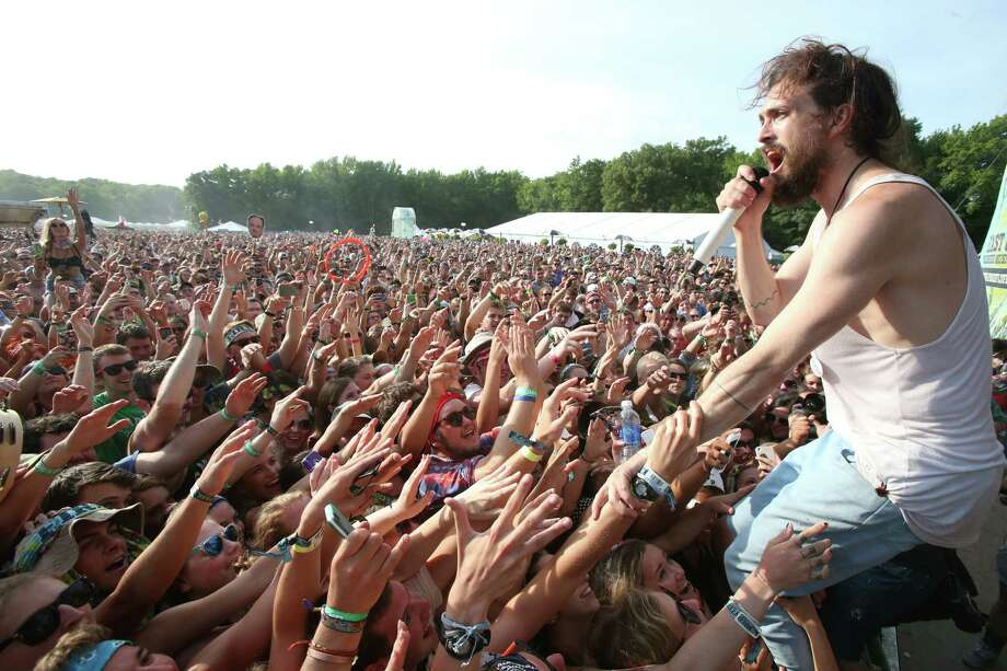 Edward Sharpe and The Magnetic Zeros perform on Day 2 of the Firefly Music Festival at The Woodlands on Saturday, June 22, 2013 in Dover, Del.  Photo: Owen Sweeney, Associated Press / Invision