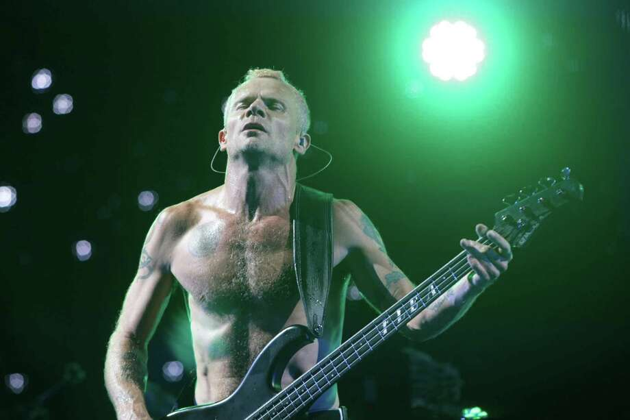 Flea of The Red Hot Chili Peppers performs on the Firefly Stage on day one of the Firefly Music Festival Friday June 21, 2013, in Dover, Del. Photo: Suchat Pederson, Associated Press / The Wilmington News-Journal