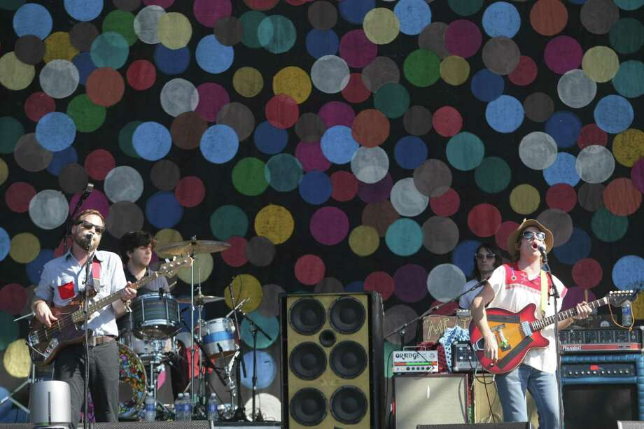 Dr. Dog performs on the Firefly Stage on day one of the Firefly Music Festival Friday June 21, 2013, in Dover, Del.  Photo: Suchat Pederson, Associated Press / The Wilmington News-Journal