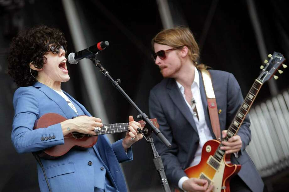 LP perform during the Firefly Music Festival on Sunday June 23, 2013, in Dover, Del.  Photo: Suchat Pederson, Associated Press / The News Journal