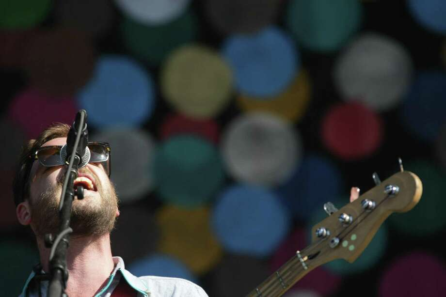 Toby Leaman of Dr. Dog performs on the Firefly Stage on day one of the Firefly Music Festival Friday June 21, 2013, in Dover, Del. Photo: Suchat Pederson, Associated Press / The Wilmington News-Journal