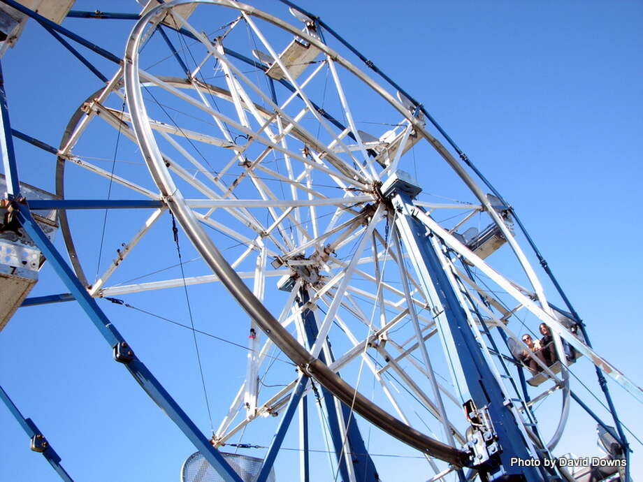 The fourth annual SF Cannabis Cup included a Ferris wheel for the first time Photo: Picasa