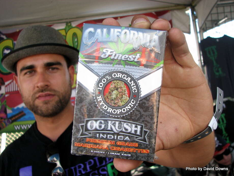 America's first pack of cannabis cigarettes, California's Finest Photo: Picasa